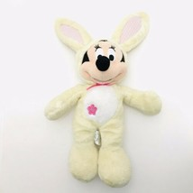 Disney Store Minnie Mouse Bunny Easter Rabbit Plush Toy Original Authentic - $9.90