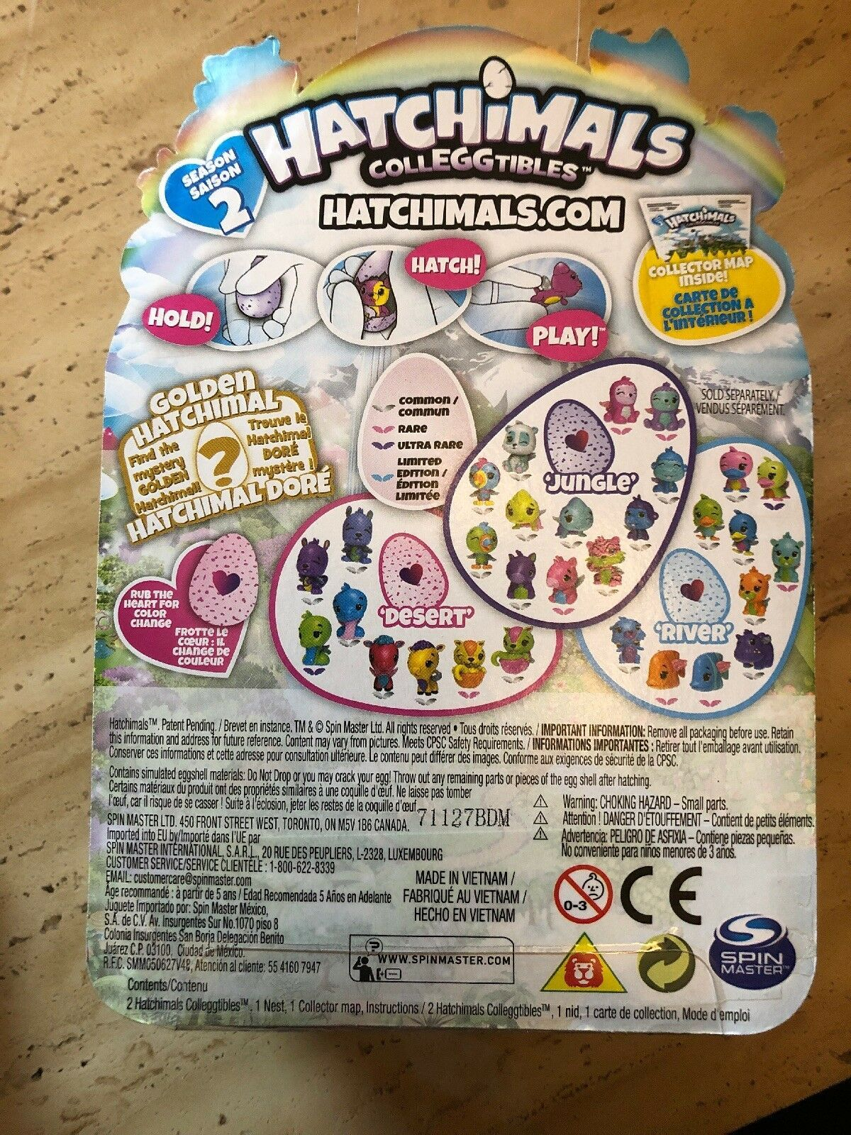 Hatchimals 2-Pack CollEGGtibles Season Two Egg + PLUS BONUS NEST Hatchimal - NEW