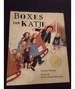BOXES FOR KATJE By Candace Fleming Signed First Edition 2003 Dust Jacket - $22.76