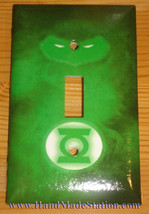 Green Light Man Logo Light Switch Duplex Outlet Wall Cover Plate Home decor
