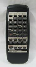 Sharp RRMCG0074AWSA Audio System Remote CMSC640 CMSC660 CMSR550 SC9630 SC9730 - $12.99