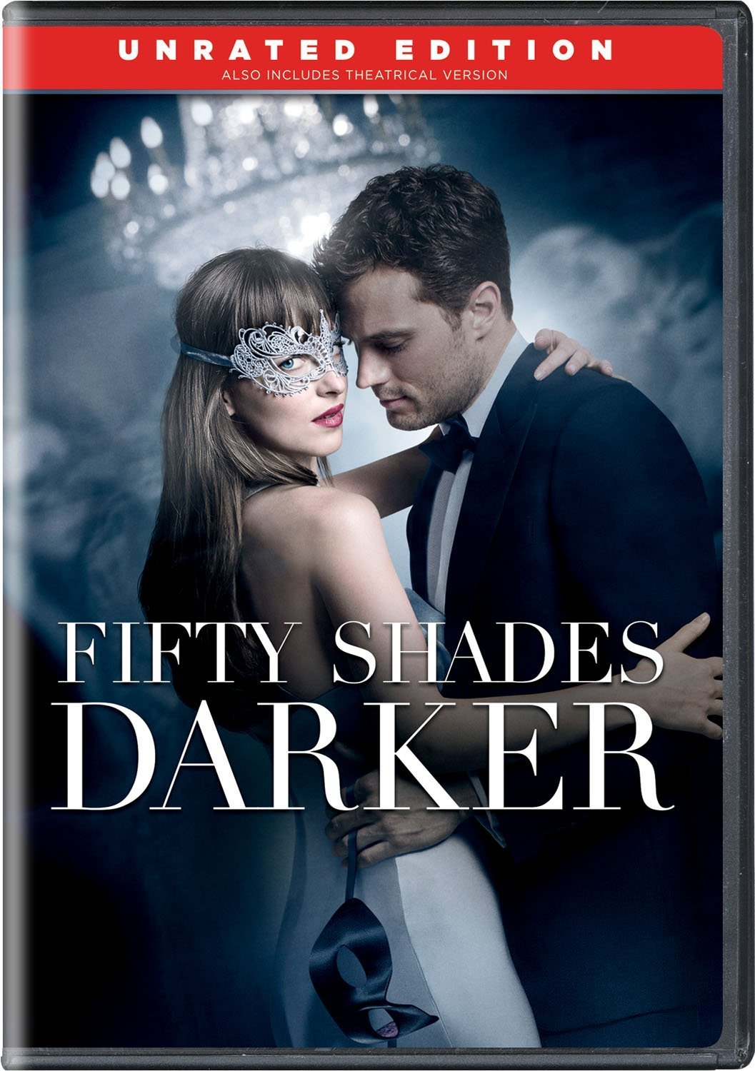 Fifty Shades Darker - Unrated Edition (2017, DVD)