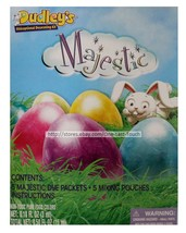 DECORATING KIT* 10pc Easter Egg MAJESTIC Non-Toxic Food Pure Colors DUDL... - $2.98