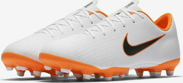 Nike Mercurial Vapor 12 Academy Football BootsWhite Orange 5 US 37 4UK Junior GS - $36.43