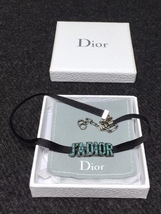 NEW AUTH Christian Dior J'ADIOR TURQUOISE Limited Edition Necklace Choker  image 1