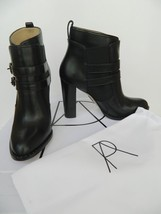Paul Andrew Boot Dean Ankle Wrap Straps High Chunky Heel Bootie $1195 NI... - $385.00
