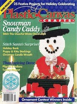 Plastic Canvas  Crafts Magazine Issue December 1994 Volume 2 Number 6 - $5.25