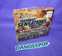 Original Artists And Recordings Overnight Sensations 1965-1993 CD Set Sealed - $24.74