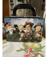 I Love Lucy 2 Sided Metal Lunch Box California Here We Come Carmen Miran... - $29.99
