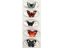K&Company Flora & Fauna Butterfly Baubles Stickers #30-599451