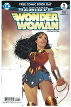 Wonder Woman Special Edition #1 Promo Free Comic Book Day FCBD 2017 Ruck... - $6.95