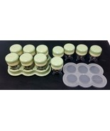 Baby Bullet Baby Food Processor 11 Replacement Date Dial Storage Cups/Tr... - $26.17
