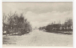 Ninth Avenue Library Greeley Colorado Albertype postcard - $6.93