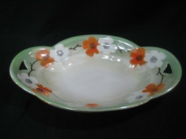 RS Germany White Hand Painted Oval Serving 0r Relish Dish Bowl - $18.65