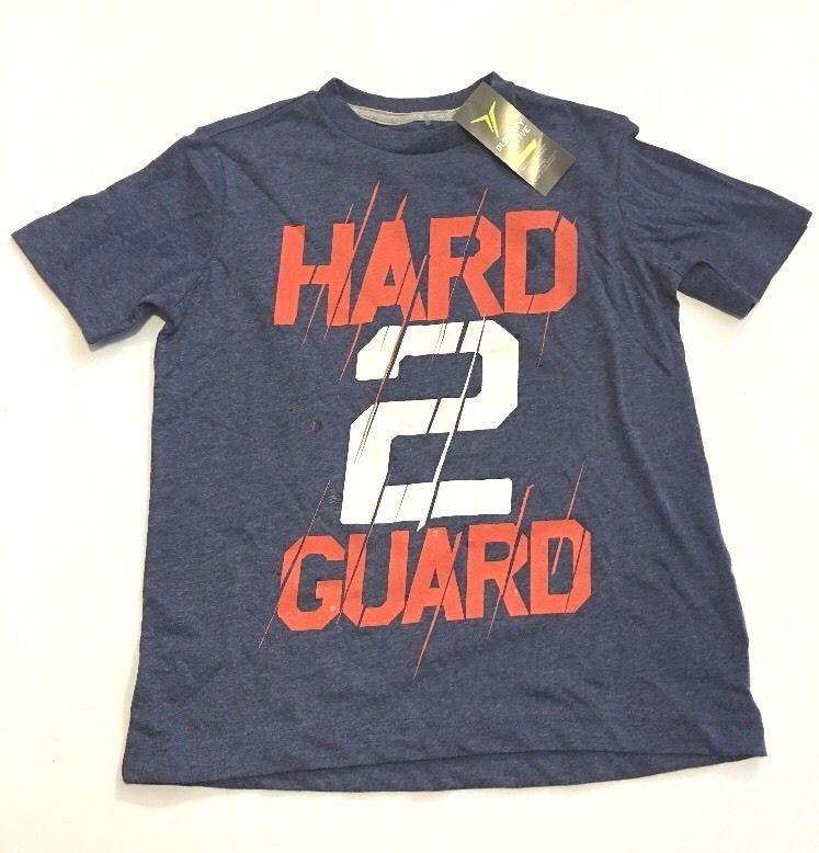 Boys Active Tee Shirt Old Navy Athletic Hard 2 Guard Print - $11.99
