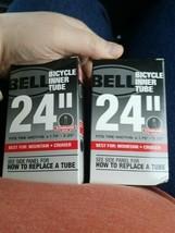 "BELL Bicycle Inner Tube 24"" Mountain/Cruiser Standard 1.75""-2.25""  pack of 2 - $22.99"