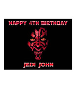 Star Wars Darth Maul edible cake image topper party cake decoration fros... - $7.80