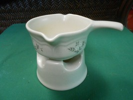 Great Pfaltzgraff Heirloom.. ..Warmer And Small Pitcher - $9.49