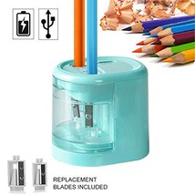 Electric Pencil Sharpener, Dual Holes Battery or USB Operated Pencil Sha... - $18.69