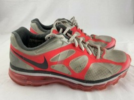 Nike Air Max 2012 Running Shoes Women's Size 8 White Pink 487679-160 - $24.74