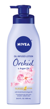 NIVEA Oil Infused Body Lotion, Orchid and Argan Oil, 16.9 Fluid Ounce  - $10.79