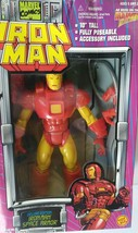 "Vintage Toy Biz Iron Man 10"" Space Armor Action Figure in the box. #48126 - $35.00"