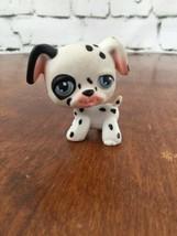Littlest Pet Shop LPS #44 or #297 Dalmatian Puppy Dog White Black Authentic - $157,29 MXN