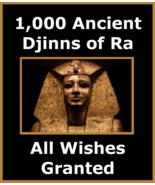 spr 1,000 Ancient Djinns Of Ra All Wishes Granted & Betweenallworlds Mon... - $155.32
