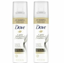 Dove Care Between Washes Dry Shampoo Brunette 5 oz Lot Of 2 (LOC BK-19) - $14.03