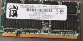 VR4DP287228EBKS5 1GB DDR PC2700 DDR-333MHZ 64X8 18CHIPS 200PIN SODIMM ECC
