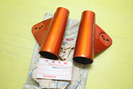 Genuine Honda Twin CB125 K2 Front Fork Cover L/R NOS. 51602/06-246-000XH - $61.73