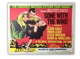 """GONE WITH THE WIND"" ORIGINAL 11X14 AUTHENTIC TITLE LOBBY CARD PHOTO POS... - $112.46"