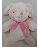 PetSmart 2018 scarf Pink White Hope bunny rabbit Plush squeaky Dog Toy L... - $6.92
