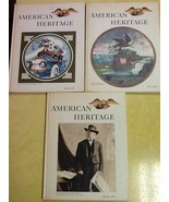 Lot of 11 American Heritage Books of History 1967-69 - $24.74