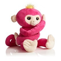 Fingerlings HUGS Bella (Pink)  Advanced Interactive Plush Baby Monkey Pe... - $55.17