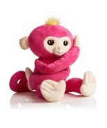 Fingerlings HUGS Bella (Pink)  Advanced Interactive Plush Baby Monkey Pe... - $73.19 CAD