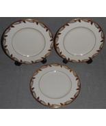 Set (3) Lenox ESSEX PATTERN Dessert or B&B Plates MADE IN USA - $29.69