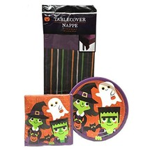 Halloween, Trick or Treaters Party Paper Plates Party Supplies Disposabl... - $19.08