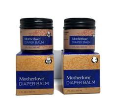 2- Motherlove Diaper Balm For Persistent Rash Organic Ingredient 1oz Jar T3 - $25.15