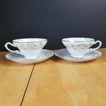 Lot of TWO (2) Sheffield Classic 501 Fine China Cup & Saucer Sets - $5.93