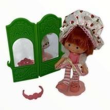 Dancin' Strawberry Shortcake Doll Vintage Ballerina Dancer with Accessories - $48.00