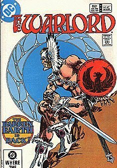 "Warlord Comic Book - ""The Barren Earth is Back"" - Vol. 8 No. 67 - March 1983 [Co"