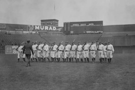 New York Yankees drilled on Field with Rifles - Art Print - $19.99+