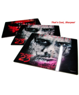 3 2007 THE NUMBER 23 Holographic Mousepads Movie Promos Jim Carrey - $8.99