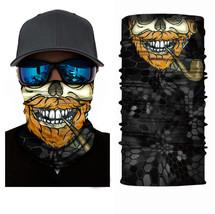 Crazy Cool Skull Winter Face Mask Bandanas Headband Multi Headwear Scarf #5 - $4.94