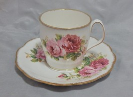 Royal Albert England American Over Sized Cup and Saucer Hot Chocolate Set - $23.76