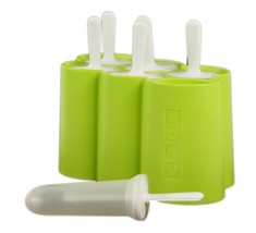 ZOKU  Ice Pop Mold Easy Release with Sticks and Drip Guards Makes 6 - $9.49
