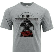 Death Proof Dri Fit Tshirt printed active wear retro movie graphic SPF Sun shirt image 1