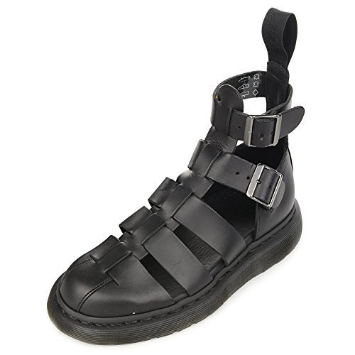 Dr. Martens Geraldo Fashion Gladiator sandal 15696001 Black, UK 5 (US Men's 6 Wo