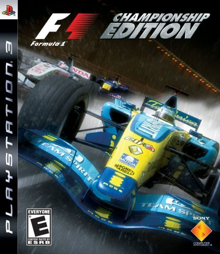 F1: Formula One Championship Edition - Playstation 3 [video game]